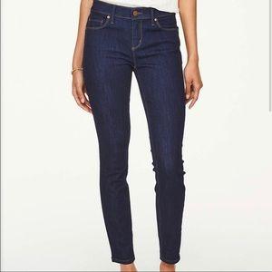 LOFT Modern Skinny Dark Wash Jeans Sz 0